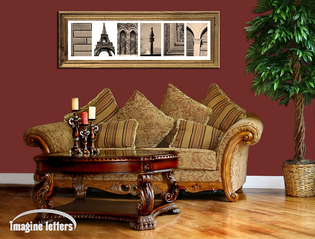 Alphabet photos home decor design ideas art letters home for Home furnishings and decor