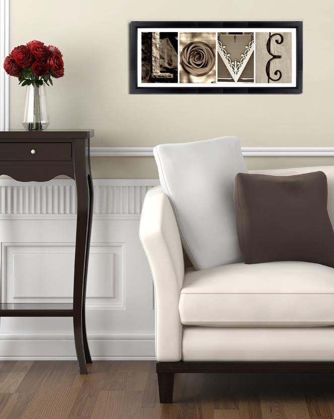 Alphabet Photos Home Decor Design Ideas Living Room