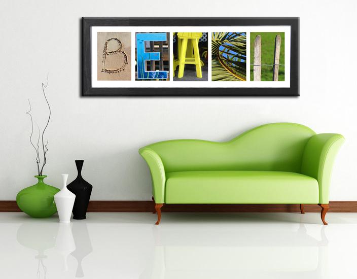 Alphabet photos home decor design ideas room beach letters5 Letter n home decor