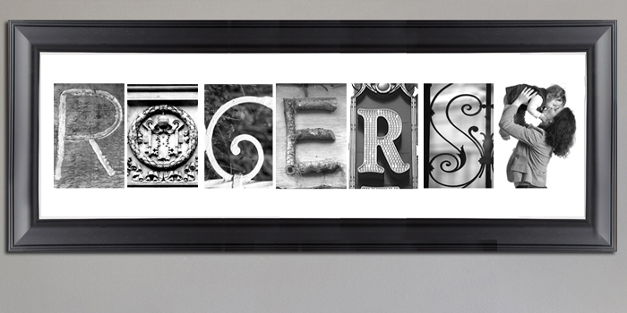 Name Art | Alphabet Art | Lettter Photography and Prints