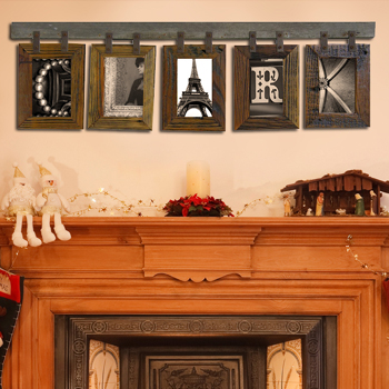 alphabet photos - framing Idea