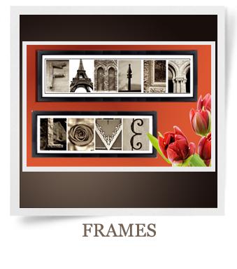 Customized Name Art Alphabet Photography Art Lettter