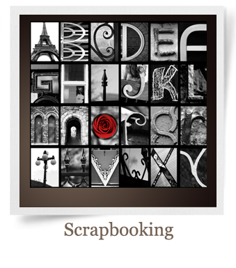 Scrapbooking Name Art| Alphabet Art | Lettter Photography and Prints