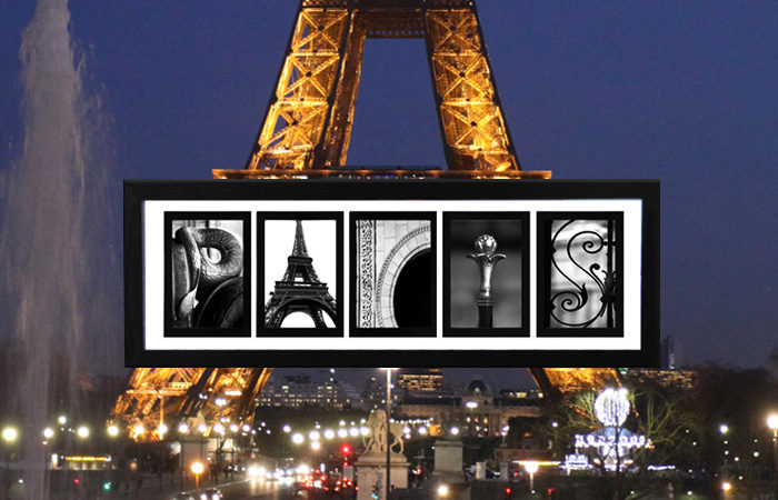 The story behind shooting the PARIS letters