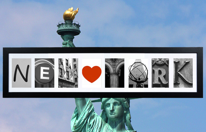 The story behind the NEW YORK letters