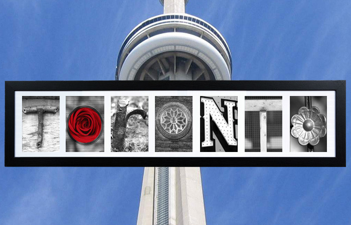 The story behind the TORONTO letters